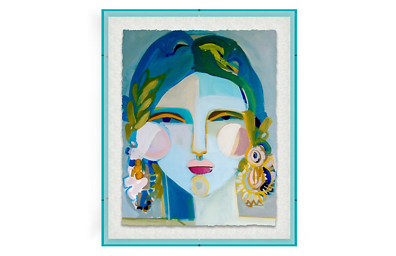 Hayley Mitchell, Ka'iuliani, Acrylic Frame