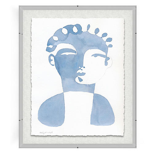 Jacques I, Gray Acrylic Box