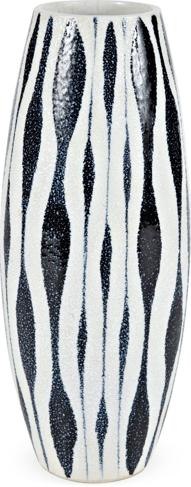 1950s Japanese Art Pottery Vase