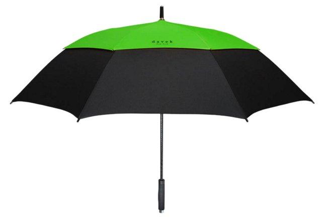 Golf Umbrella, Green/Black