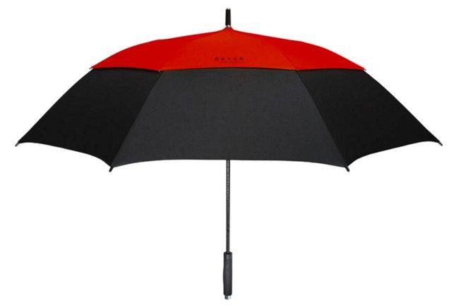 Golf Umbrella, Red/Black