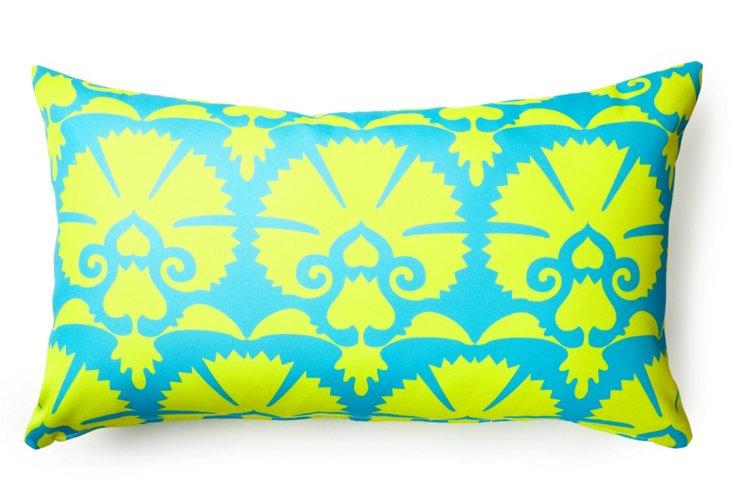 Drama 14x24 Outdoor Pillow, Green