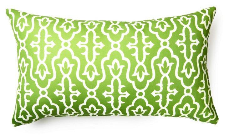 Maira 14x24 Outdoor Pillow, Lime