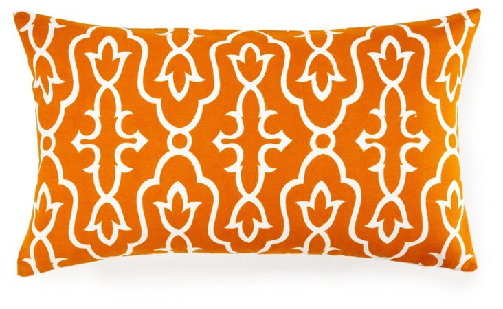 Maira 14x24 Pillow, Orange