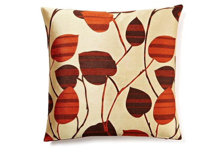Chic 20x20 Pillow, Rust