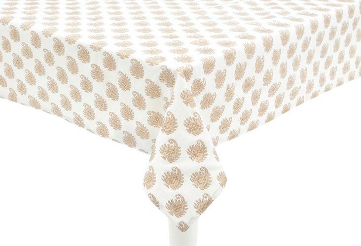 Khadi Paisley Tablecloth