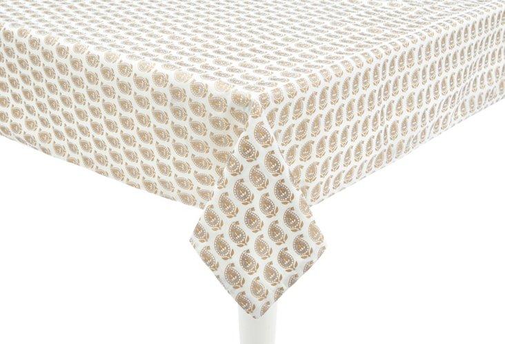 Khaddar Paisley Tablecloth