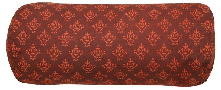 Motif 18x8 Bolster Pillow, Burgundy