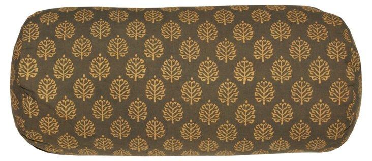 Bali 18x8 Bolster Pillow, Brown