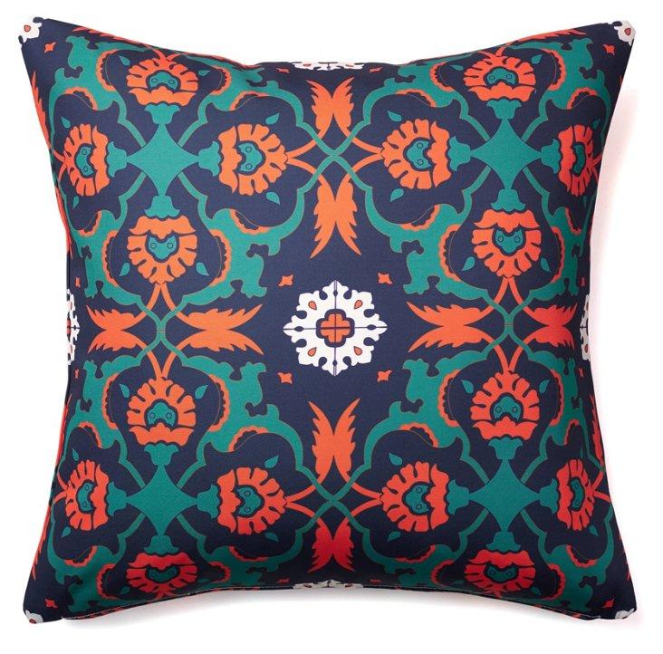 Kaleidoscope 20x20 Outdoor Pillow, Multi