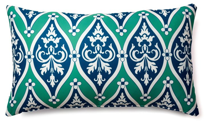 Encased 14x24 Outdoor Pillow, Multi