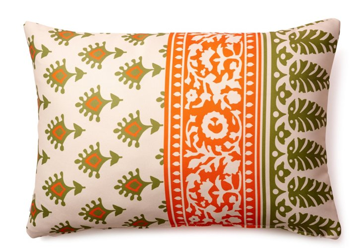 Batik 14x20 Outdoor Pillow, Multi