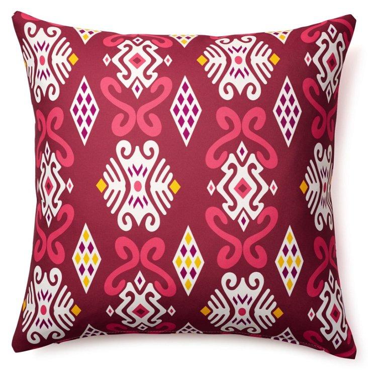 Flutter 20x20 Outdoor Pillow, Multi