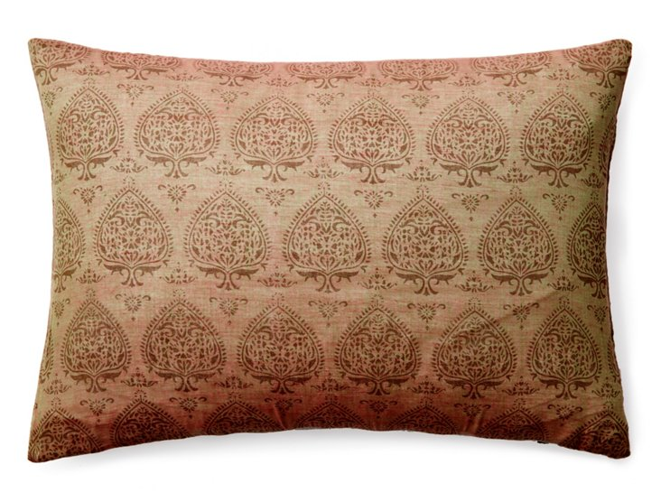 Palla 14x20 Cotton Pillow, Taupe