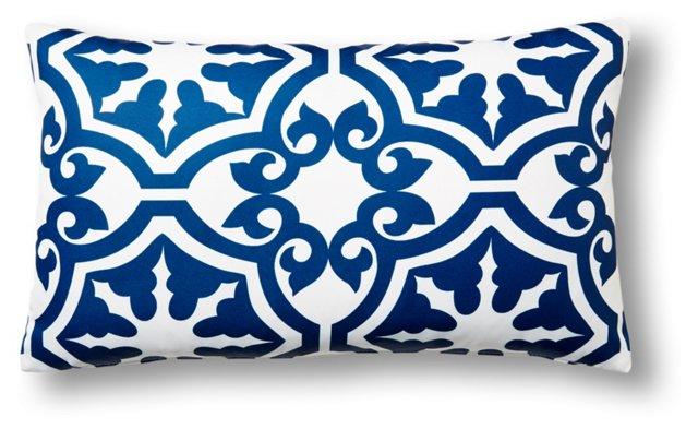 Athos 14x24 Outdoor Pillow, Navy
