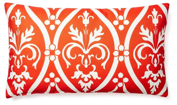 Murano 14x24 Outdoor Pillow, Orange