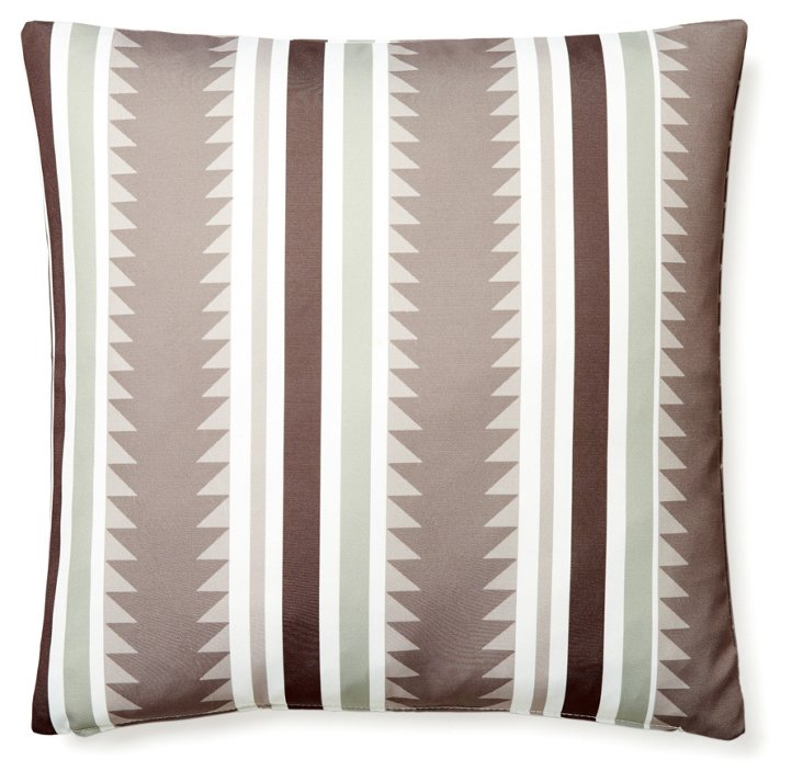 Sedona 20x20 Outdoor Pillow, Taupe