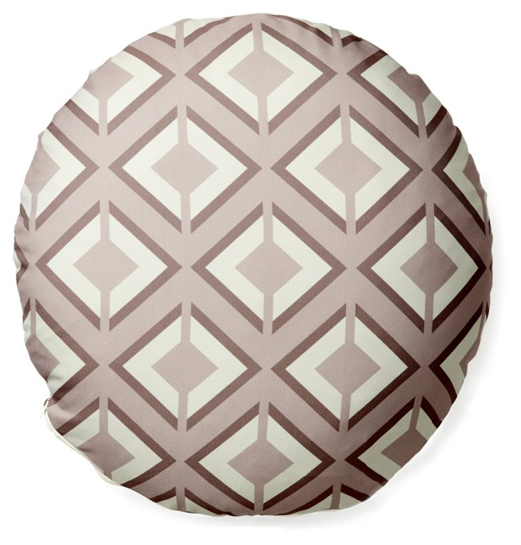 "Argos 16"" Outdoor Pillow, Taupe"