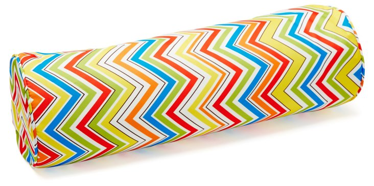 Chevron 7x24 Outdoor Pillow, Multi