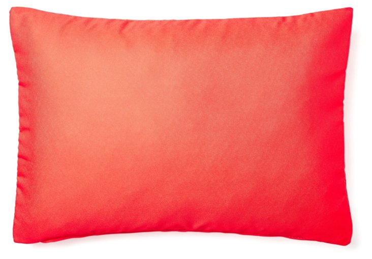 Solid 14x20 Outdoor Pillow, Red