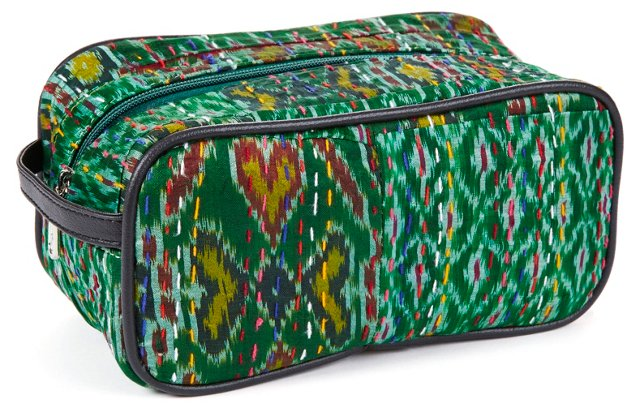 Cosmetic Bag, Green