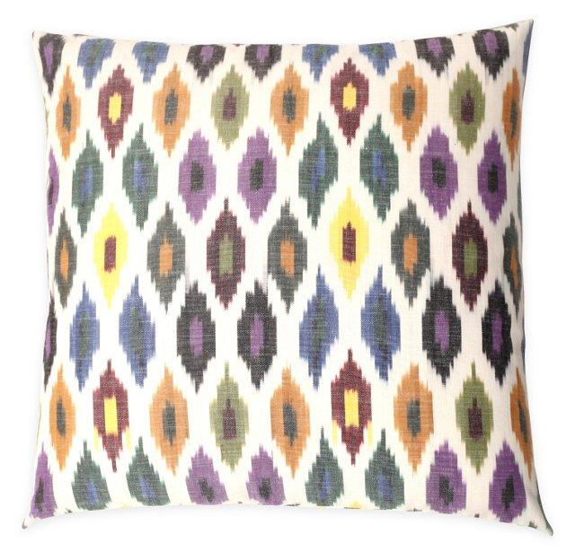Dana 20x20 Cotton Pillow, Multi