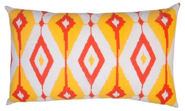 Helios 14x24 Cotton Pillow, Multi
