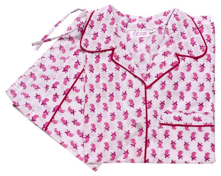 Medium Lucie Pajama Set, Pink