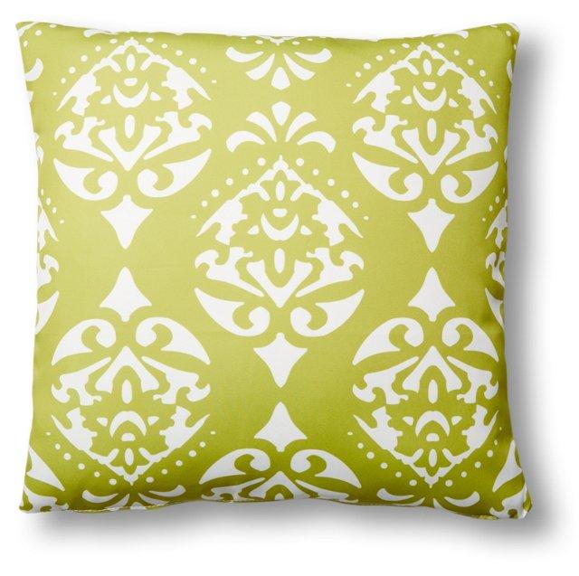 Astoria 20x20 Outdoor Pillow, Lime
