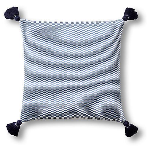 Ella 18x18 Pillow, Periwinkle