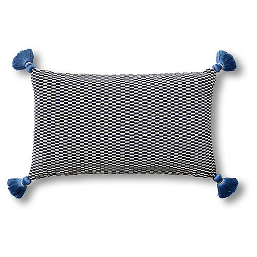Ella 12x20 Pillow, Navy