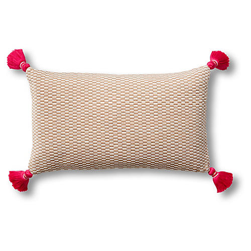 Ella 12x20 Pillow, Camel