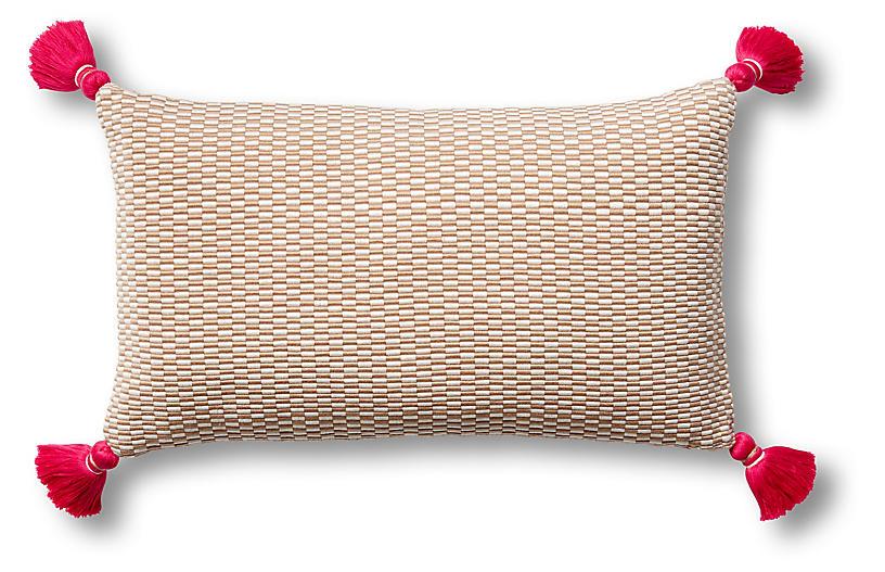 Ella 12x20 Lumbar Pillow, Camel