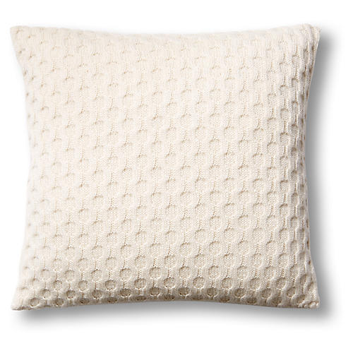 Theo 16x16 Pillow, Natural