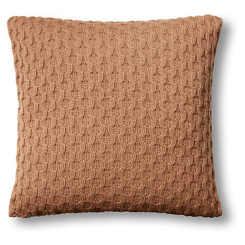 Theo 16x16 Pillow, Camel