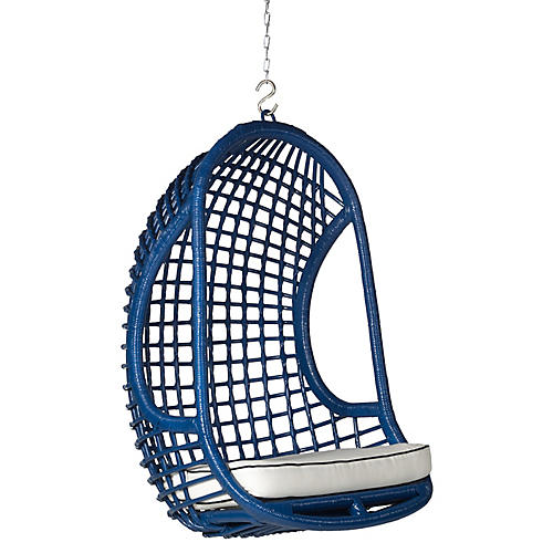 Troy Hanging Chair, Navy