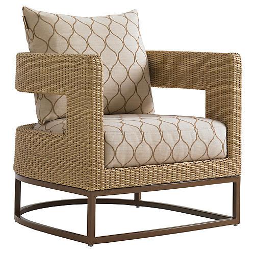 Aviano Barrel Chair, Sand