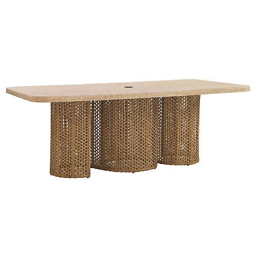 "Aviano 84"" Rectangular Dining Table"