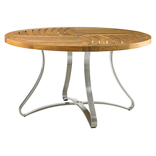 "Tres Chic Round 44"" Dining Table"