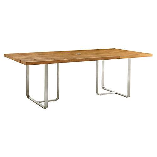 """Tres Chic 32"""" Rectangular Dining Table"""