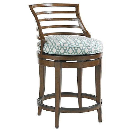 Pacifica Swivel Counter Stool