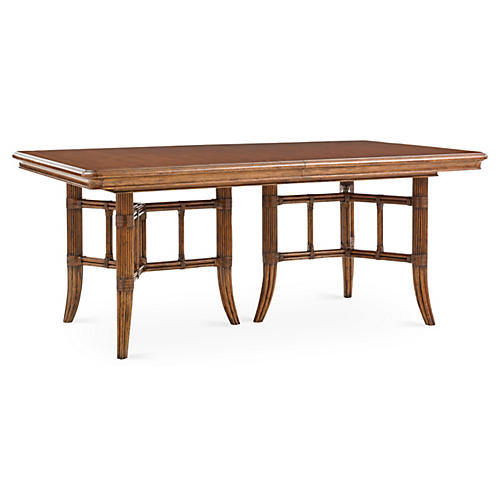 "Fischer Island Pedestal 72"" Dining Table"