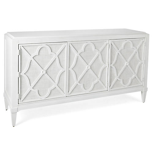 "Hawkins Point 72"" Sideboard, White"