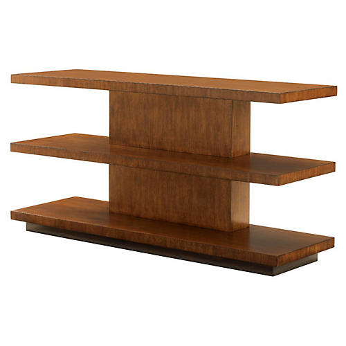 "Lagoon 60"" Sofa Table, Tawny"