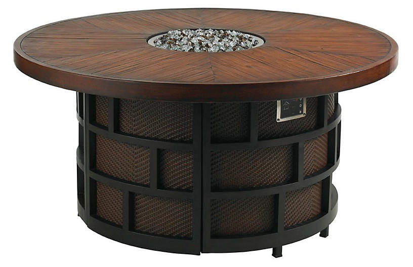 Kits Fire Pit - Sienna - Tommy Bahama