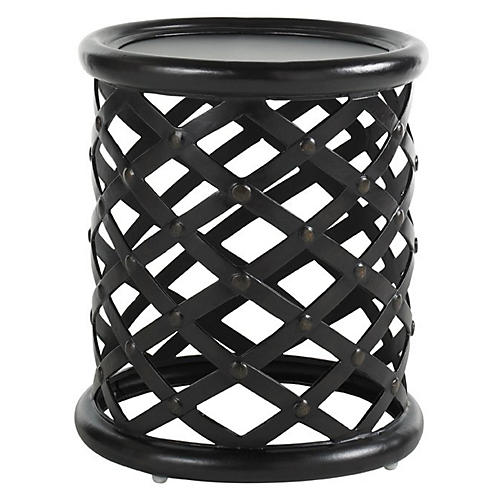 Napa Outdoor Side Table, Wenge