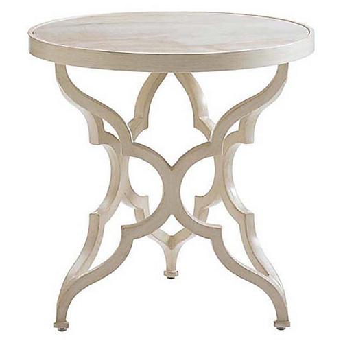 Misty Garden Side Table, Umber