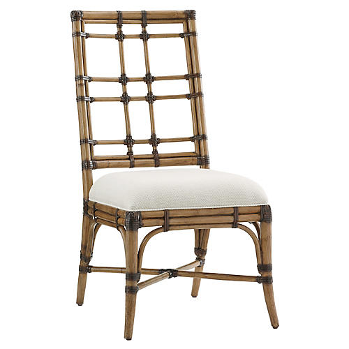 Seaview Side Chair, Soft Taupe