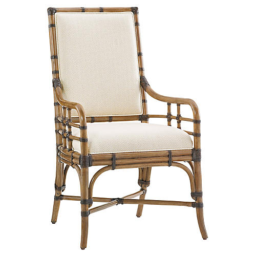 Summer Isle Armchair, Soft Taupe