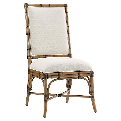 Summer Isle Side Chair, Soft Taupe
